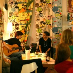 Sam Alty solo art cafe2